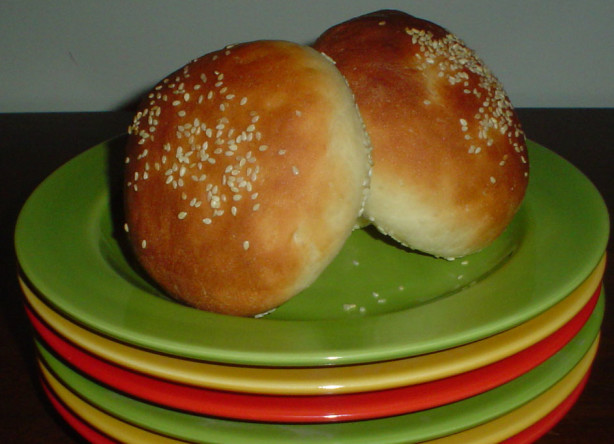 Beautiful Burger Buns Recipe - Food.com
