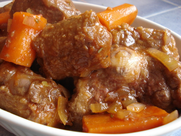 Best Rated Pressure Cooker Oxtail Casserole Recipe - Food.com