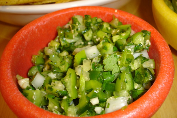 Salsa Verde For Cilantro Lovers Recipe - Food.com