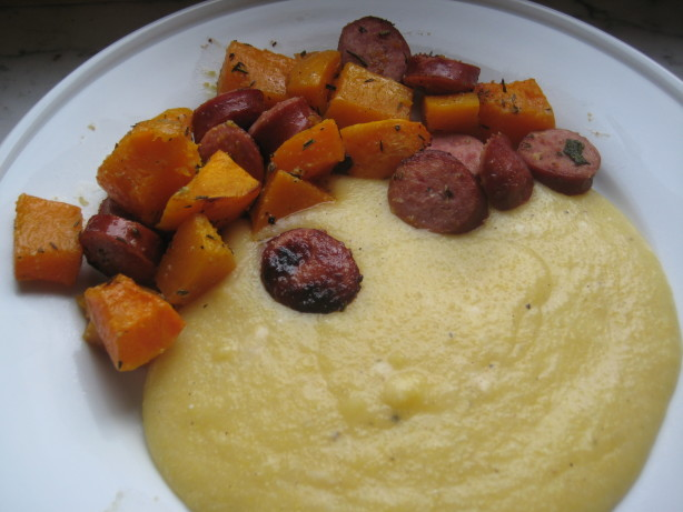 Herb-Roasted Butternut Squash And Sausages Recipe - Food.com