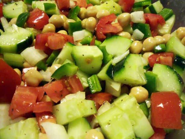 Israeli Chickpea Salad Recipe - Food.com