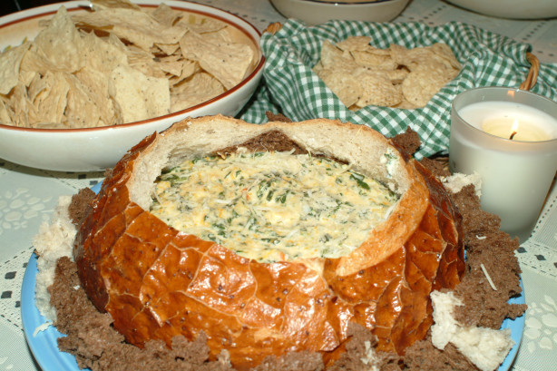 Hot Cheesy Spinach Dip Recipe - Food.com