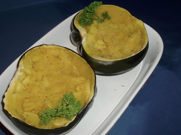Baked Acorn Squash And Brown Sugar Recipe - Food.com