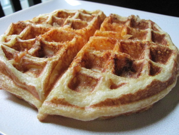 Crispy Cornmeal-Bacon Waffles Recipe - Food.com