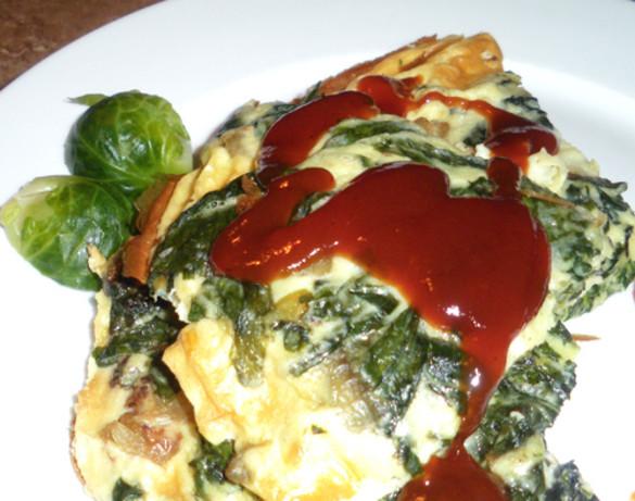 Fresh Spinach Frittata Recipe With Mushroom - Food.com