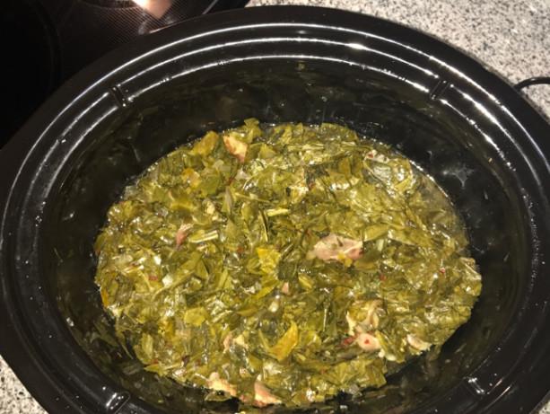 Soul Food Collard Greens Recipe Crock Pot