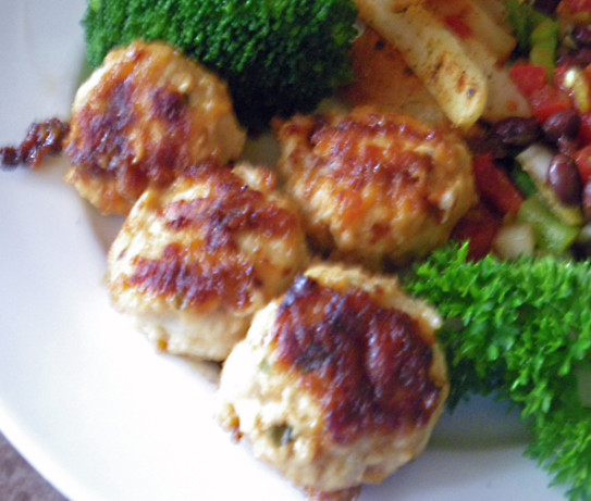 Cheesy Parmesan Chicken Or Turkey Meatballs Recipe - Food.com