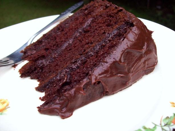 Cake With Chocolate Pudding Mix : Darn Good Chocolate Cake Cake Mix Cake) Recipe - Food.com