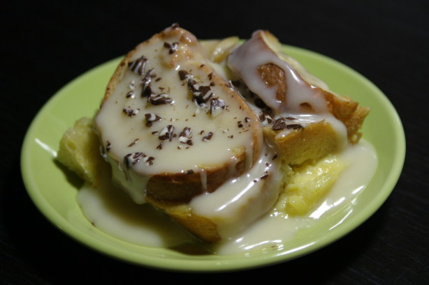 Recipe White Chocolate Bread Pudding Palace Cafe