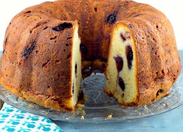 Blueberry Cream Cheese Pound Cake Recipe Food Com