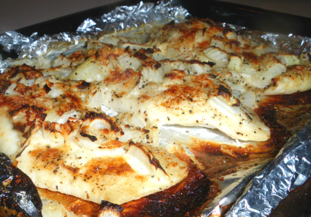 Easy cheese baked fish recipe for Easy baked fish recipes