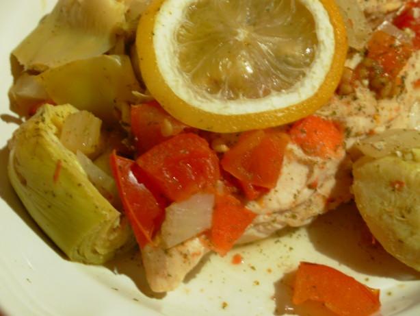Chicken With Artichokes And Lemon Recipe - Food.com