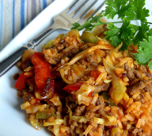Bloody Mary Style Cabbage Jambalaya Recipe - Soul.Food.com