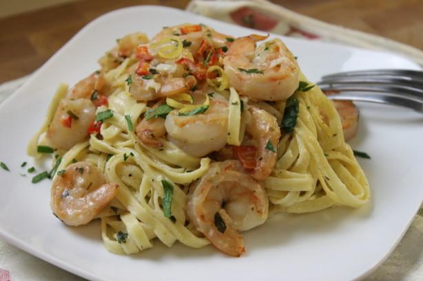 Lemon-Shrimp Pasta Recipe - Food.com