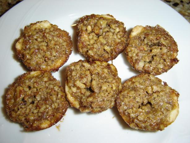 Light Pecan Tassies In Cream Cheese Pastry Recipe - Food.com