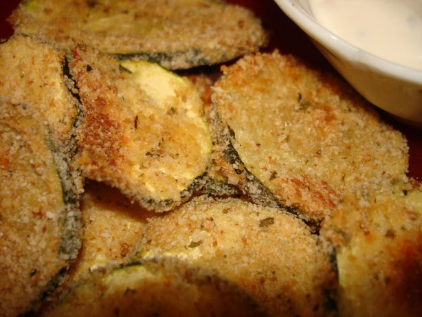 Breaded n Baked Zucchini Chips Recipe - Food.com