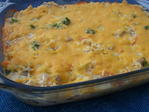 Creamy Chicken And Rice Bake Recipe Food Com