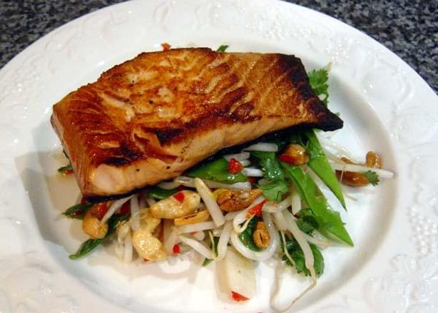 glazed salmon with blood orange salsa ginger soy glazed salmon recipe ...