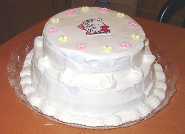 White Chocolate Wedding Cake Recipe