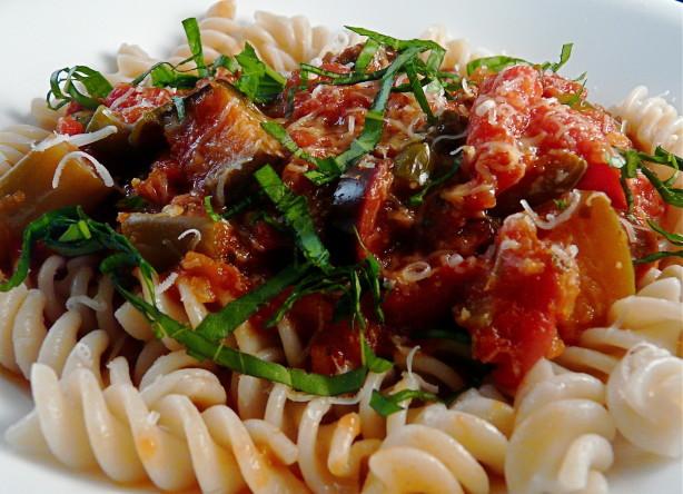 Crock Pot Pasta With Eggplant Sauce Recipe - Food.com