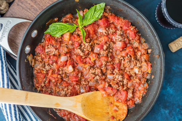 how to make spaghetti sauce for one