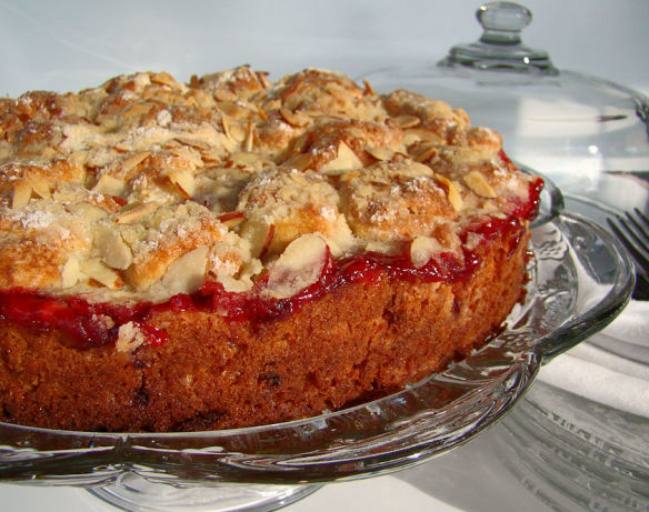 Cherry Streusel Coffee Cake Recipe - Food.com