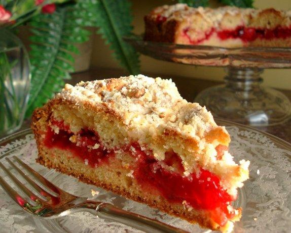 Cherry Streusel Coffee Cake Recipe - Food.com
