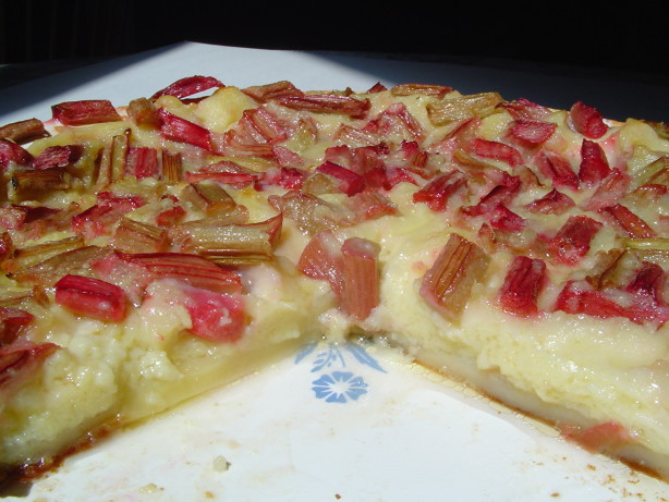 Rhubarb Custard Pie Recipe - Food.com