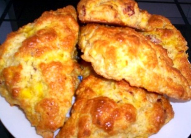Bacon, Egg And Cheddar Scones Recipe - Food.com
