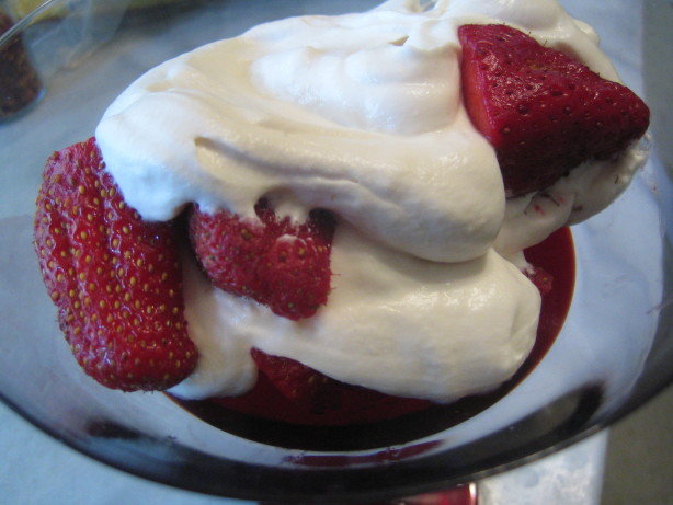 ... with pea shoots and strawberries strawberries romanoff dessert recipes