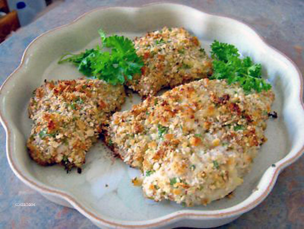 Oven-Fried Almond Chicken Recipe - Food.com