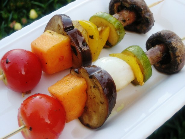 Shish Kebab Grill Grilled Veggie Shish Kabobs