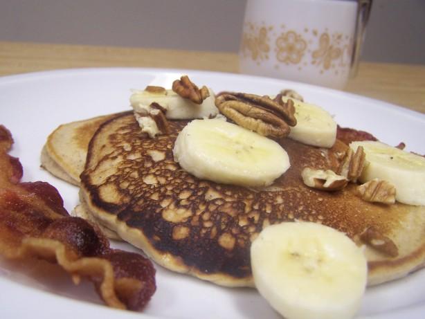 Banana Pecan Buttermilk Pancakes Recipe - Food.com