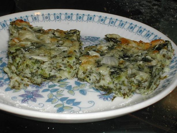 Cheesy Spinach Squares Recipe - Food.com