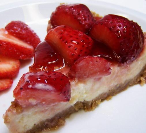 Strawberry Cheesecake Recipe: Strawberry Cheesecake Pie Recipe