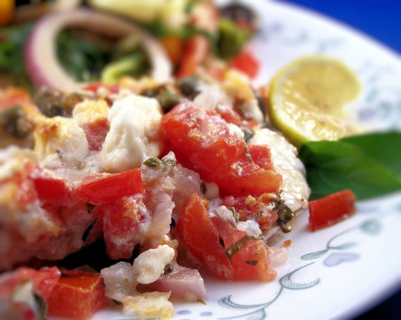 Mediterranean Style Orange Roughy Recipe