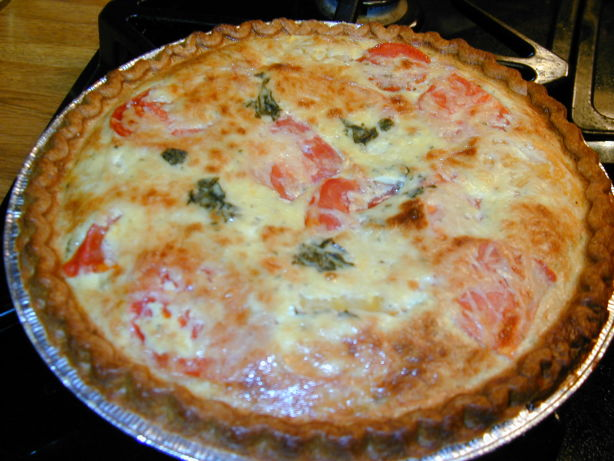 Tomato, Basil, Yogurt Tart Recipe - Food.com
