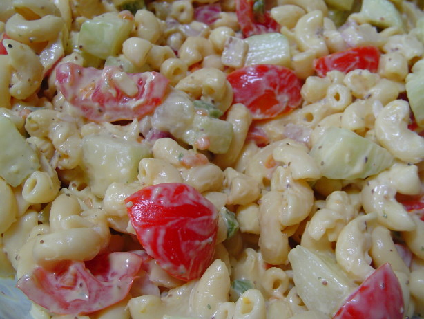 Cucumber Tomato Macaroni Salad Recipe - Food.com