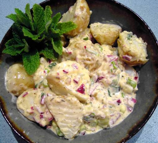 Warm Mustard Potato Salad Recipe - Food.com