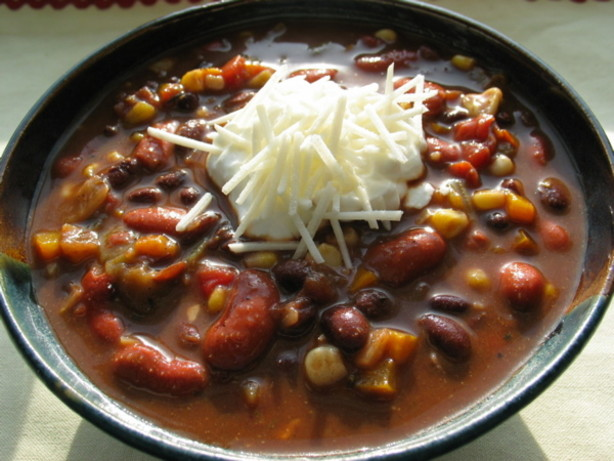 Sweet And Spicy Vegetarian Chili Recipe - Food.com