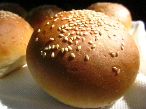 Homemade Sesame Hamburger Buns Recipe - Food.com
