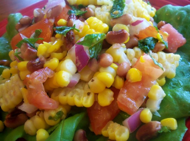 Pinto Bean, Fresh Corn And Tomato Salad Recipe - Food.com