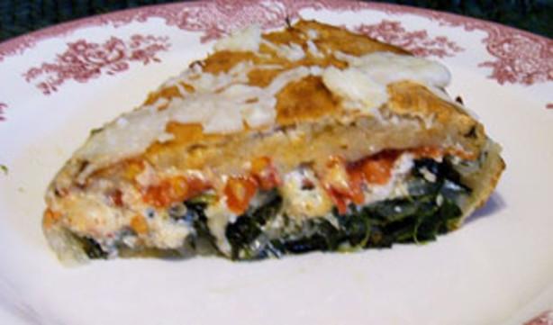 Deep-dish Veggie Pizza Recipe - Food.com