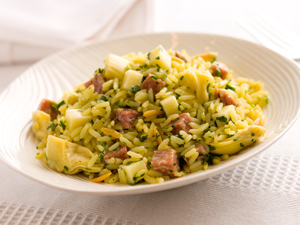 curried rice and artichoke salad recipe
