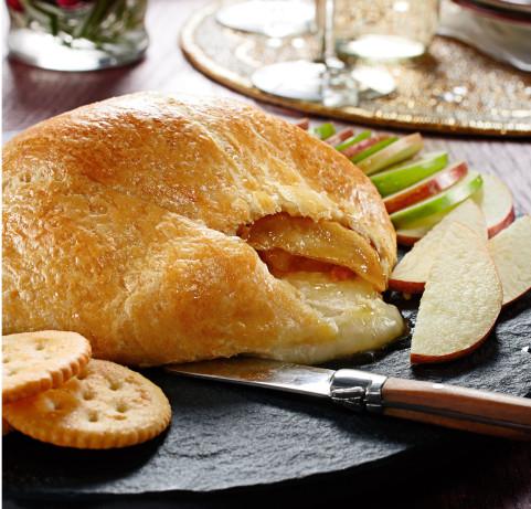 Crescent Wrapped Apple Brie Recipe Food Com