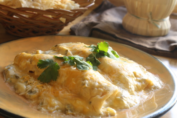 Creamy Turkey Enchiladas Recipe - Food.com