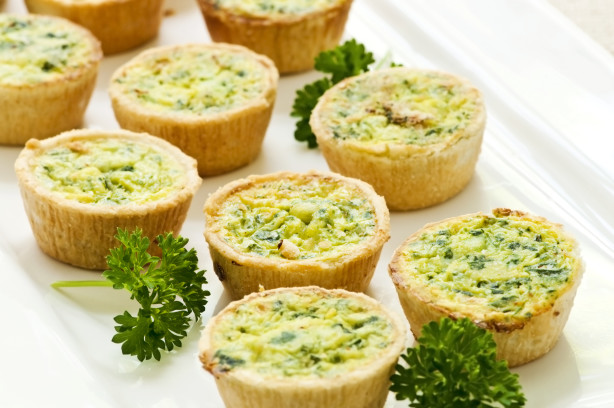 Spinach, Brie And Bacon Mini Quiche Recipe - Food.com