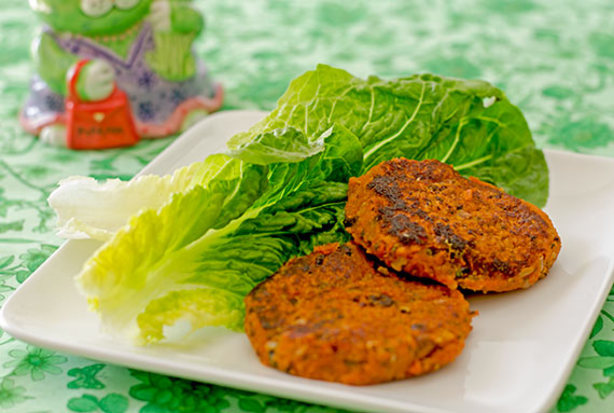 Quinoa And Sweet Potato Cakes Recipe — Dishmaps