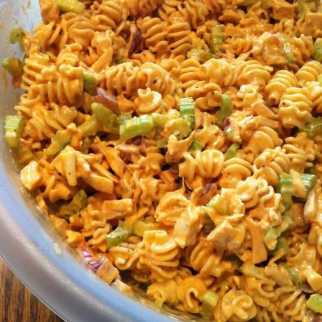 Buffalo Chicken Pasta Salad Recipe - Food.com