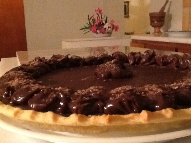 Superbly Rich Chocolate Tart Recipe - Food.com